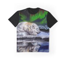 Bear reflection Graphic T-Shirt
