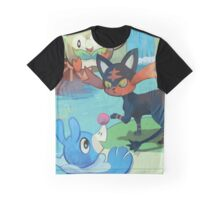Gen 7 Starters Graphic T-Shirt
