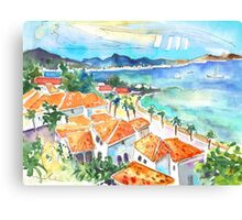 Bay Of Saint Martin Canvas Print