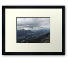 Up on a Hill Framed Print