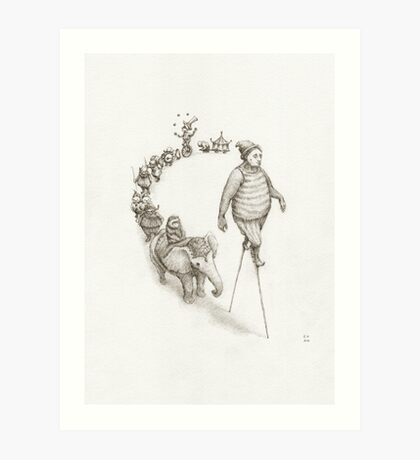 This Thing Called Life Art Print