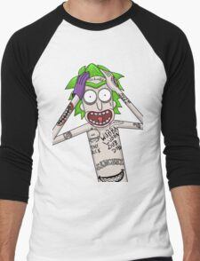 I'm just going to wubba lubba dub dub you real bad Men's Baseball ¾ T-Shirt