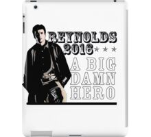REYNOLDS 2016 - A BIG DAMN HERO iPad Case/Skin