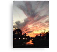 Stranger Clouds Canvas Print
