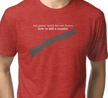 One Size Fits All Tri-blend T-Shirt