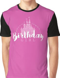 Birthday Girl Dreams Graphic T-Shirt