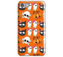 Doom Kitty and Friends: Small Print iPhone Case/Skin
