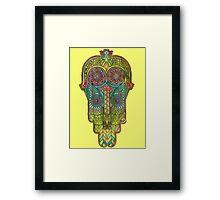 Hamsa/Protection Framed Print