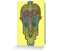 Hamsa/Protection Greeting Card