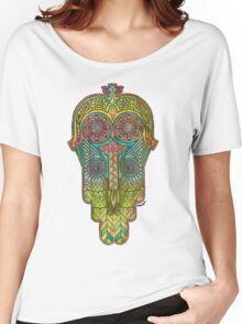 Hamsa/Protection Women's Relaxed Fit T-Shirt