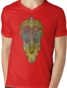 Hamsa/Protection Mens V-Neck T-Shirt