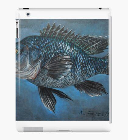 Black Sea Bass iPad Case/Skin