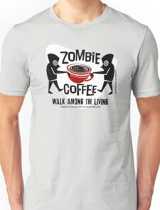Zombie Coffee Retro T-shirt original design Unisex T-Shirt