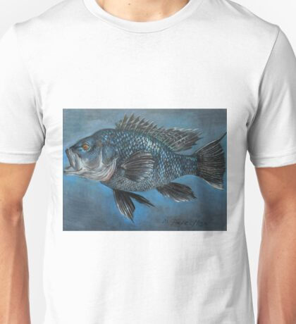 Black Sea Bass Unisex T-Shirt