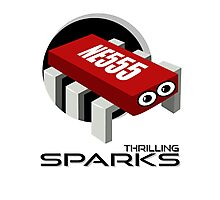 THRILLING SPARKS Photographic Print