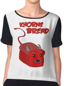 Khorne Bread Chiffon Top