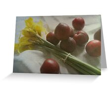March Still-Life Greeting Card