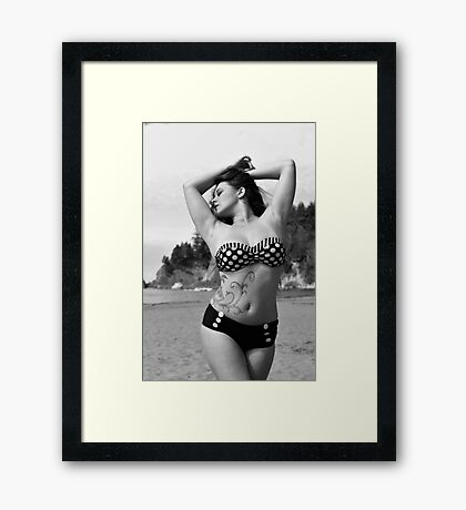 Pin Up No. 2 Framed Print