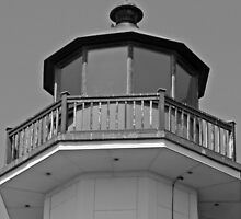 "East Point Tower in B&W by Scott ""Bubba"" Brookshire"