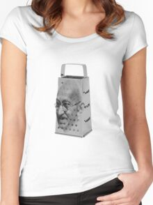 Gandhi the Grater Women's Fitted Scoop T-Shirt