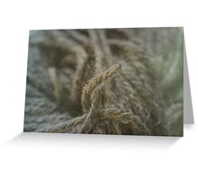 Wool Greeting Card