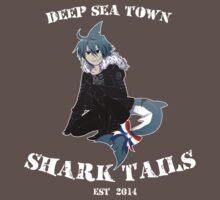 Wadanohara and the Great Blue Sea - Deep Sea Town Shark Tails / Samekichi by tempe-nightsky