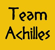 Team Achilles (Black) by supalurve