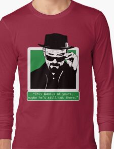 Heisenberg, This GEnius... Long Sleeve T-Shirt