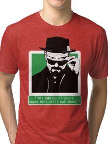 Heisenberg, This GEnius... Tri-blend T-Shirt