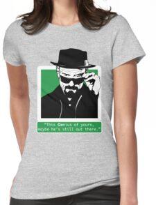Heisenberg, This GEnius... Womens Fitted T-Shirt