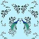 Peacock Design by Robin Monroe