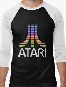 Atari Screen Logo  Men's Baseball ¾ T-Shirt