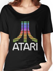 Atari Screen Logo  Women's Relaxed Fit T-Shirt