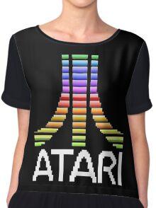 Atari Screen Logo  Chiffon Top