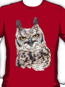 African Spotted Eagle Owl T-Shirt