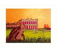 Toad of Brodsworth Hall Art Print