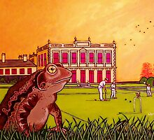 Toad of Brodsworth Hall by artgardener