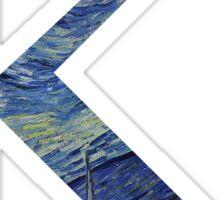 Kappa - Starry Night Sticker