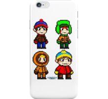 South Park Boys - Pixel Art iPhone Case/Skin