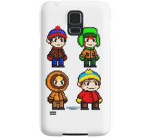 South Park Boys - Pixel Art Samsung Galaxy Case/Skin