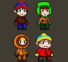 South Park Boys - Pixel Art Unisex T-Shirt