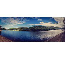 Ladybower Reservoir Panorama Photographic Print