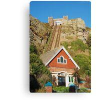 East Hill lift, Hastings Canvas Print