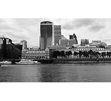 London Thames Photographic Print