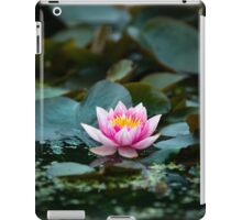Lily Pad Summer Flower iPad Case/Skin