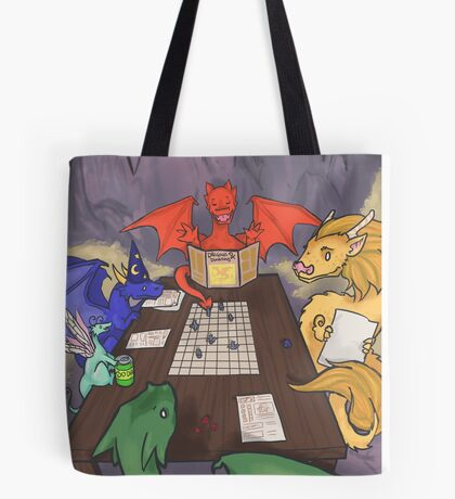 Dragons and Dungeons Tote Bag