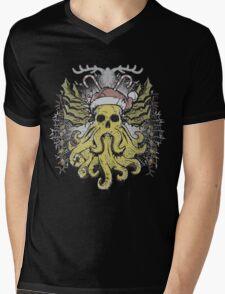 Merry Cthulhumas! Mens V-Neck T-Shirt