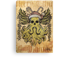 Merry Cthulhumas! Canvas Print