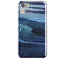 path through highland meadows at night iPhone Case/Skin