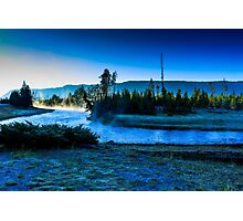 Madison River Yellowstone at Dawn Photographic Print